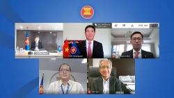 Đại sứ Nguyễn Hải Bằng trình Ủy nhiệm thư lên Tổng Thư ký ASEAN Dato Lim Jock Hoi