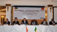 Lãnh đạo cấp cao hai nước dự Diễn đàn doanh nghiệp Việt Nam - Mozambique