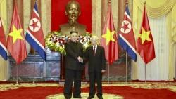 Tổng Bí thư, Chủ tịch nước Nguyễn Phú Trọng gửi Điện chúc mừng 75 năm thành lập Đảng Lao động Triều Tiên
