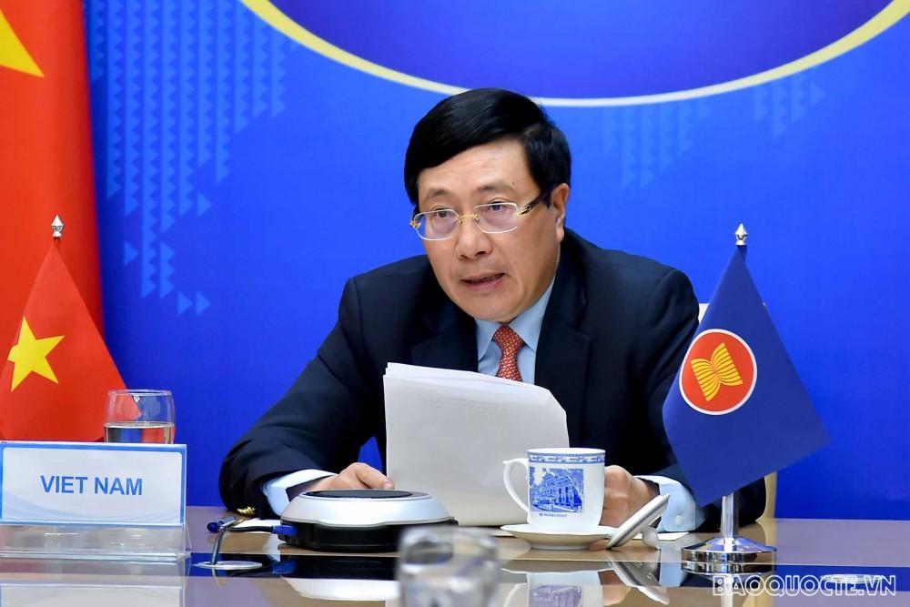 Hội nghị Bộ trưởng Ngoại giao ASEAN không chính thức trao đổi về tình hình Myanmar