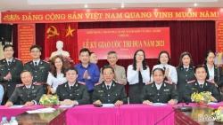 Thanh tra Bộ Ngoại giao ký giao ước thi đua năm 2021