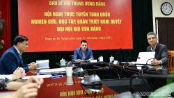 Bộ Ngoại giao quán triệt Nghị quyết Đại hội XIII của Đảng