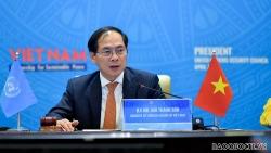 Bộ trưởng Ngoại giao Bùi Thanh Sơn: Chưa có hòa bình bền vững chừng nào vết thương của chiến tranh chưa được chữa lành