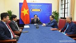 Bộ trưởng Ngoại giao Việt Nam-Ấn Độ: Hai nước phấn đấu đạt mục tiêu kim ngạch thương mại 15 tỷ USD