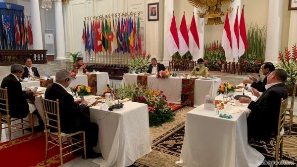 Bộ trưởng Bùi Thanh Sơn tham dự ăn tối làm việc của các Bộ trưởng Ngoại giao ASEAN