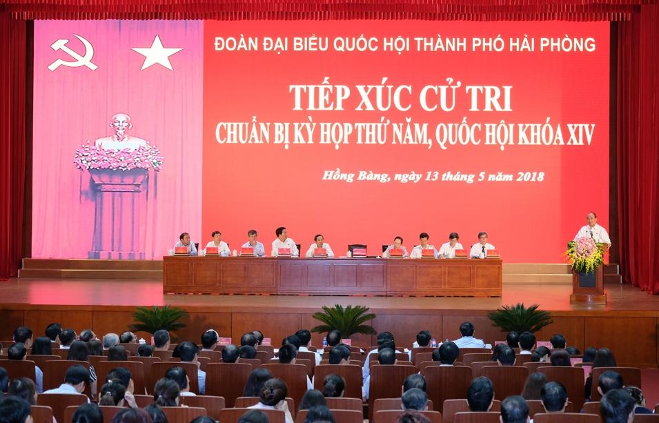 Tiếp xúc cử tri, Thủ tướng giải đáp vấn đề đầu tư công