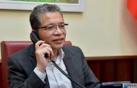 Covid-19: Thứ trưởng Ngoại giao Đặng Minh Khôi điện đàm với Tổng Thư ký Bộ Ngoại giao Algeria