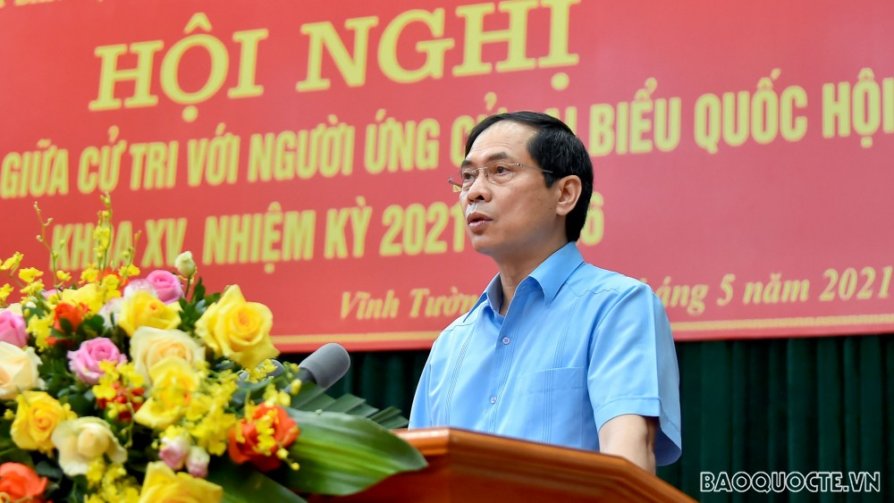 Cử tri huyện Vĩnh Tường và TP Vĩnh Yên ủng hộ các biện pháp chống dịch Covid-19 quyết liệt của tỉnh Vĩnh Phúc
