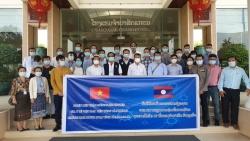 Lào đánh giá cao những kinh nghiệm phòng chống Covid-19 của Đoàn chuyên gia y tế Việt Nam