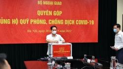 Bộ Ngoại giao phát động quyên góp ủng hộ công tác phòng, chống dịch Covid-19