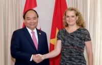 Thủ tướng Chính phủ Nguyễn Xuân Phúc hội kiến Toàn quyền Canada