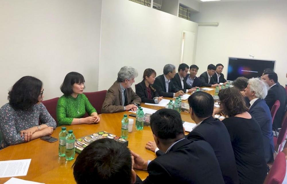 Đoàn UBND tỉnh Tuyên Quang thăm, làm việc tại Lazio, Italy
