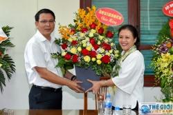 Chủ tịch Liên hiệp các Tổ chức hữu nghị Việt Nam Nguyễn Phương Nga thăm và chúc mừng Báo Thế giới & Việt Nam