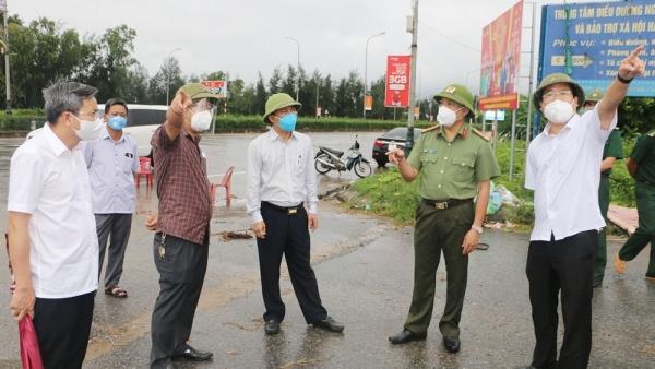 Covid-19: Phát hiện chùm 3 ca mắc, Hà Tĩnh cách ly y tế toàn xã Thạch Kim và thị trấn Lộc Hà