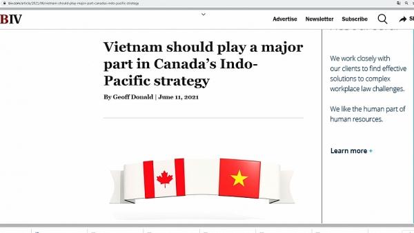 Doanh nghiệp Canada kêu gọi ưu tiên mối quan hệ với Việt Nam, tối đa hóa lợi ích của CPTPP