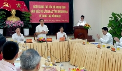 Thứ trưởng Thường trực Bùi Thanh Sơn thăm và làm việc tại tỉnh Khánh Hòa