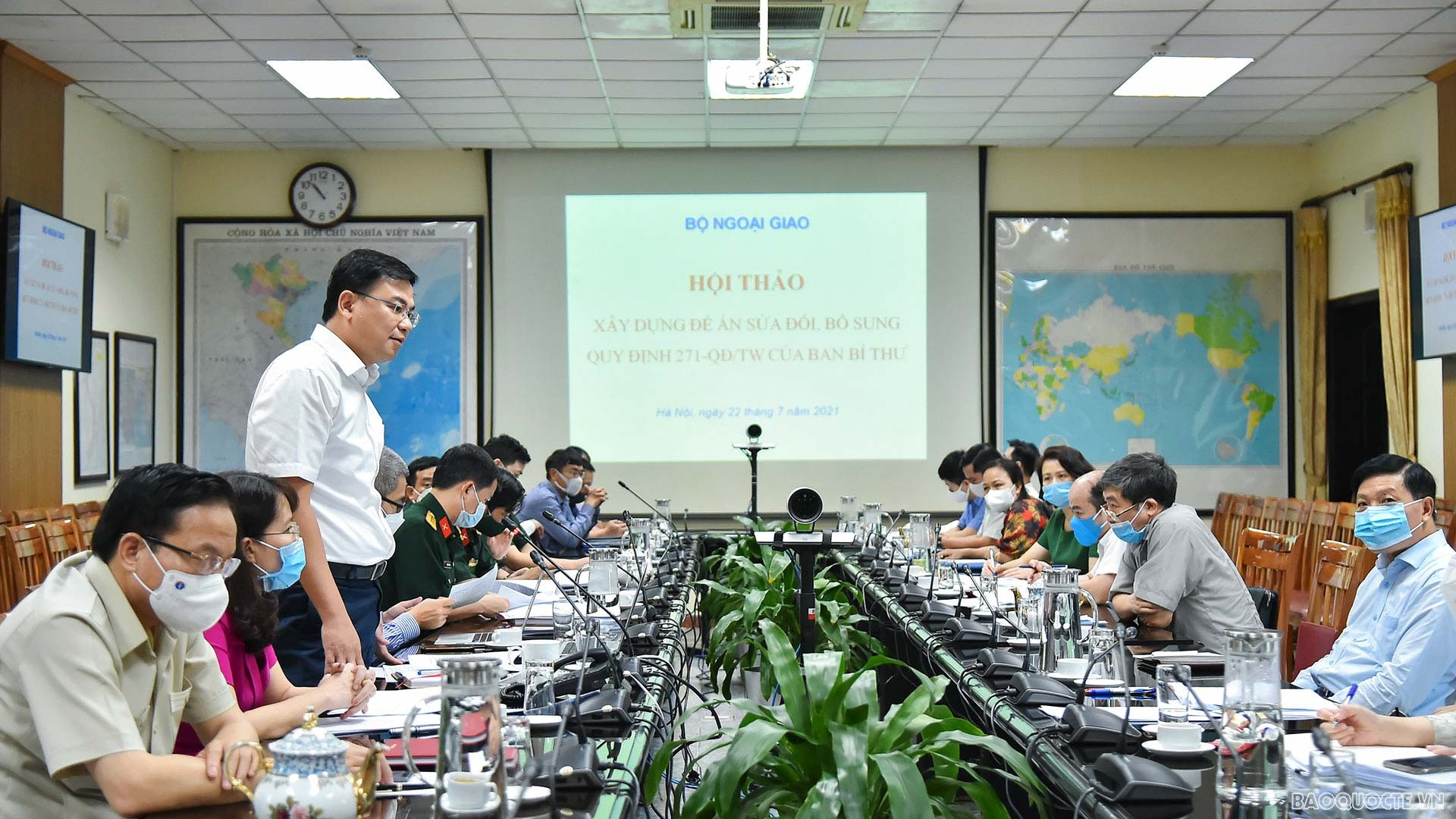 Hội thảo góp ý Đề án sửa đổi, bổ sung Quy định 271 của Ban Bí thư
