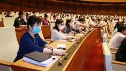 Ngày làm việc cuối cùng của Kỳ họp thứ nhất, Quốc hội khóa XV biểu quyết về cơ cấu số lượng thành viên Chính phủ
