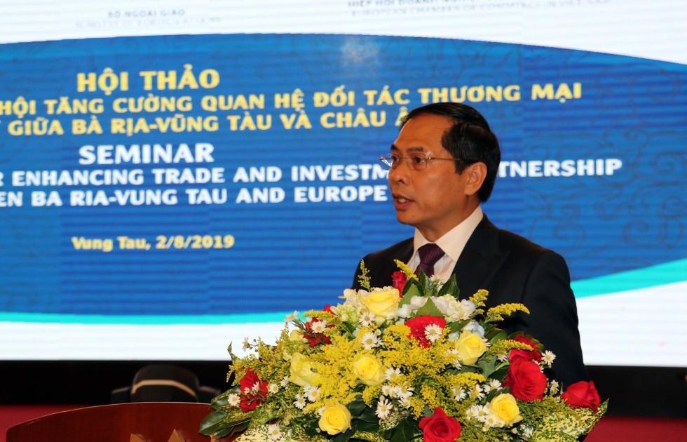 Bà Rịa - Vũng Tàu và cơ hội tận dụng hiệu quả từ Hiệp định EVFTA