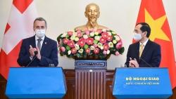 Bốn 'gạch đầu dòng' trong chuyến thăm Việt Nam của Phó Tổng thống, Bộ trưởng Ngoại giao Thụy Sỹ