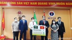 Vương quốc Saudi Arabia trao vật tư y tế hỗ trợ Việt Nam phòng chống dịch Covid-19
