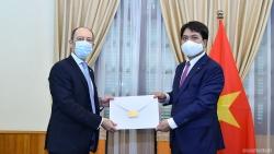 Việt Nam tiếp nhận bản sao Thư ủy nhiệm của Tổng thống Uruguay bổ nhiệm Đại sứ tại Việt Nam