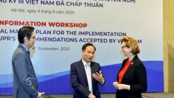 Việt Nam quyết tâm và nỗ lực bảo đảm quyền con người và thực hiện các khuyến nghị UPR