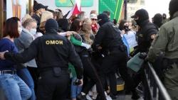 Hàng nghìn người bị bắt giữ, phe đối lập Belarus vẫn tiếp tục biểu tình