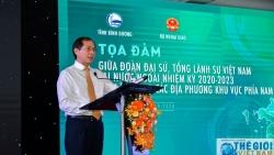 Đoàn Trưởng Cơ quan đại diện Việt Nam ở nước ngoài nhiệm kỳ 2020-2023 tọa đàm với các địa phương phía Nam
