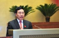 Xem xét dự án Luật sửa đổi một số điều của Luật Cơ quan đại diện Việt Nam ở nước ngoài