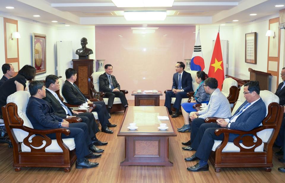 Đoàn công tác tỉnh Bà Rịa - Vũng Tàu thăm làm việc tại Hàn Quốc