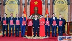 Tổng Bí thư, Chủ tịch nước trao Quyết định bổ nhiệm các Đại sứ nhiệm kỳ 2020-2023