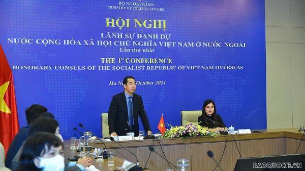 Lần đầu tiên diễn ra Hội nghị Lãnh sự danh dự Việt Nam ở nước ngoài