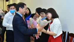 Toàn cảnh Lễ kỷ niệm Ngày Phụ nữ Việt Nam 20/10 của Bộ Ngoại giao qua ảnh