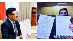 Việt Nam-Australia ký Chương trình hành động triển khai quan hệ Đối tác Chiến lược giai đoạn 2020-2023