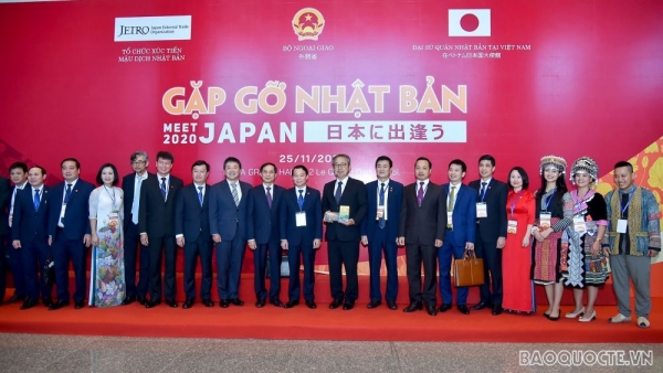 Gặp gỡ Nhật Bản 2020: Kết nối và thúc đẩy hợp tác