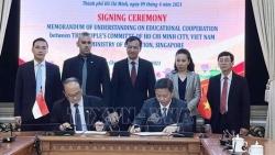 Bộ Giáo dục Singapore và TP. Hồ Chí Minh tăng cường hợp tác trong lĩnh vực giáo dục
