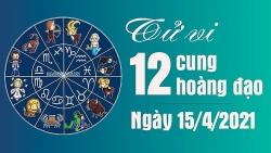 Tử vi 12 cung hoàng đạo Thứ 5 ngày 15/4/2021: Sư Tử mệt mỏi trong tình yêu, Thiên Bình công việc khó khăn