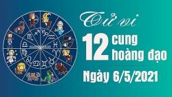 Tử vi 12 cung hoàng đạo Thứ 5 ngày 6/5/2021: Bảo Bình bị lừa tiền bạc, Bạch Dương sai lầm trong tình yêu