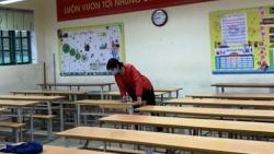 Học sinh Thái Bình tạm dừng đến trường vì có 5 ca nhiễm Covid-19