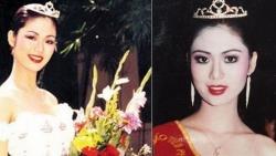 Ngắm lại hình ảnh đăng quang gây sốt của Hoa hậu Thu Thủy