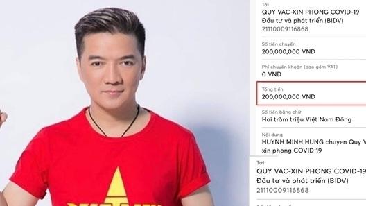Mỹ Tâm, Đàm Vĩnh Hưng và nhiều sao Việt ủng hộ Quỹ vaccine phòng chống Covid-19