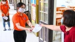 Học sinh thi vào lớp 10 tại Hà Nội phải khai báo y tế trước 17h ngày 11/6