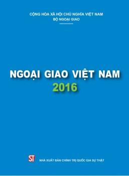 Sách Xanh Ngoại giao 2016