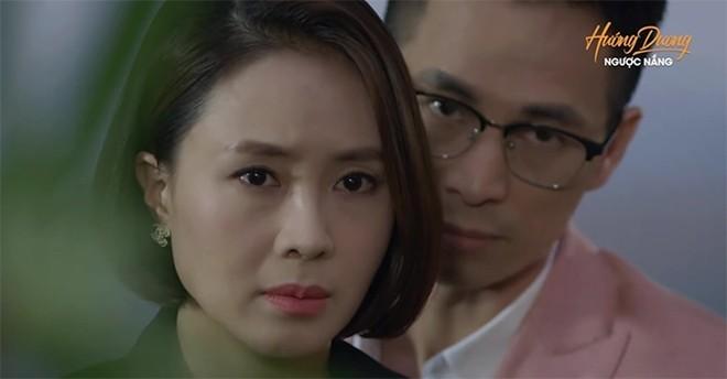 Hướng dương ngược nắng tập 37: Kiên và Vỹ bắt tay với nhau? Tận mắt nhìn thấy Kiên hôn Minh, liệu Châu có 'ra đòn' với em gái cùng cha khác mẹ?