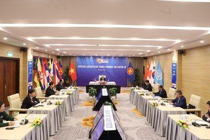 Toàn cảnh Hội nghị cấp cao ASEAN và ASEAN+3 về phòng chống Covid-19