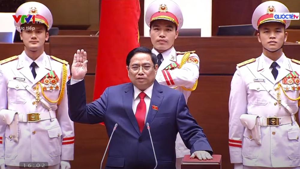 Trực tiếp Lễ tuyên thệ của tân Thủ tướng Chính phủ Phạm Minh Chính