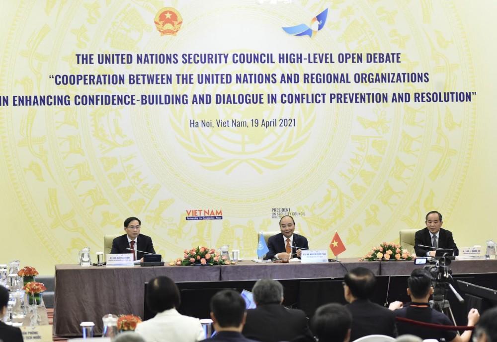 Phiên thảo luận mở Cấp cao của Liên hợp quốc về thúc đẩy xây dựng lòng tin và đối thoại trong ngăn ngừa, giải quyết xung đột