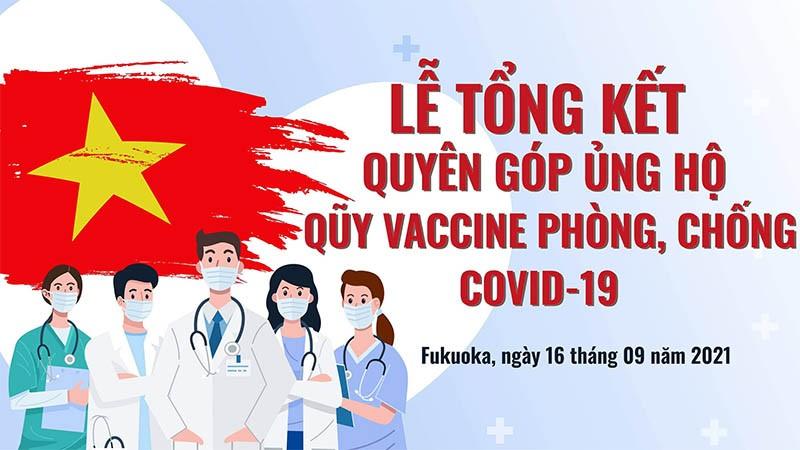 Lễ tổng kết Đợt 1 chương trình Phát động quyên góp ủng hộ quỹ Vaccine phòng chống dịch Covid-19