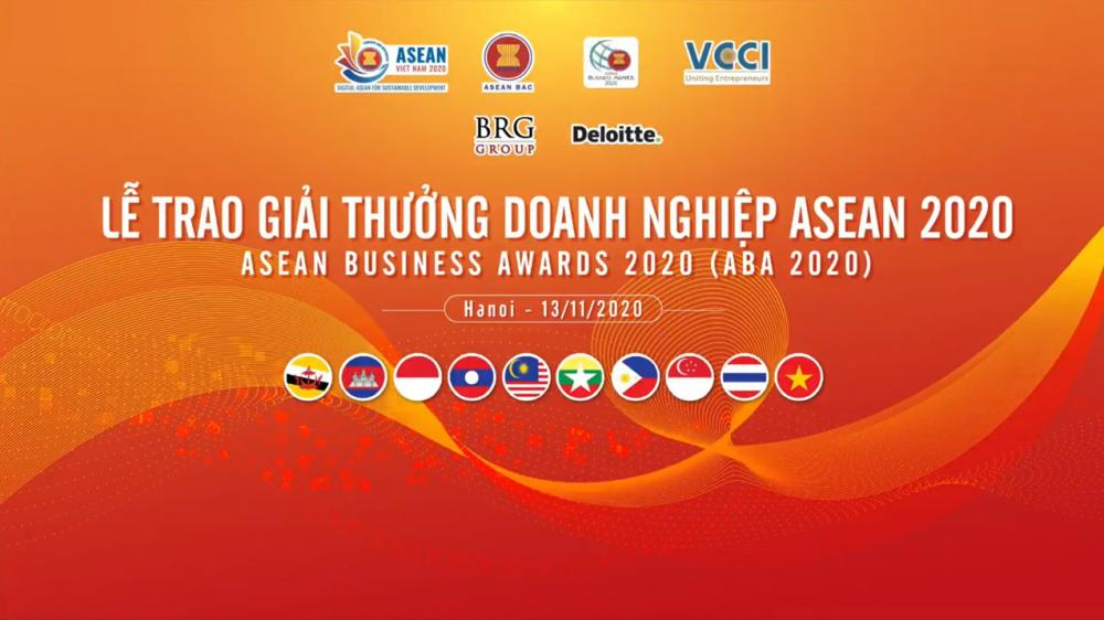 TRỰC TUYẾN: Lễ trao giải thưởng doanh nghiệp ASEAN 2020 - Nơi tôn vinh những doanh nghiệp, doanh nhân xuất sắc nhất khu vực